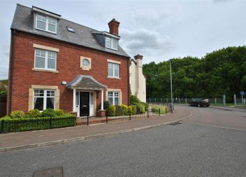 Thumbnail 5 bed detached house for sale in Stockdale Drive, Great Sankey, Warrington