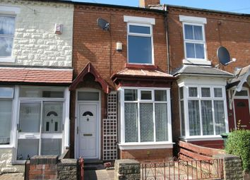 Thumbnail 2 bed terraced house for sale in Clifford Road, Bearwood, Smethwick