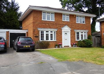 Thumbnail 4 bed detached house for sale in Lenham Close, Wokingham