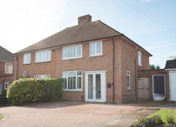 Thumbnail 3 bed semi-detached house for sale in Fowler Road, Sutton Coldfield