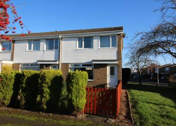 Thumbnail 3 bed end terrace house for sale in Welburn Close, Ovingham, Prudhoe, Northumberland