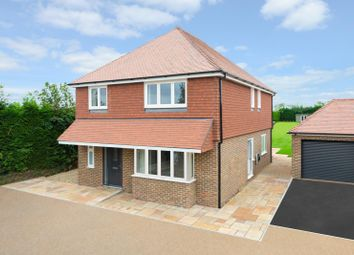 Thumbnail 4 bedroom detached house for sale in Harville Road, Wye, Ashford