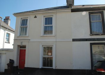 Thumbnail 3 bed end terrace house to rent in Alexandra Road, Ford, Plymouth