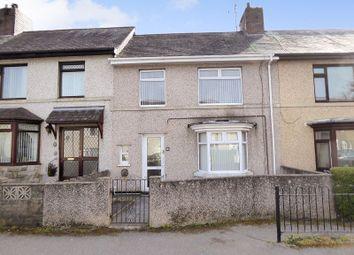 Thumbnail 3 bed terraced house for sale in Ffordd Tegai, Bangor