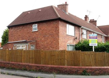 Thumbnail 3 bed end terrace house for sale in Williams Street, Langold, Worksop