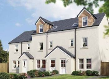 "Thumbnail 4 bedroom town house for sale in ""The Benvie"" at Stable Gardens, Galashiels"