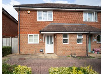 Thumbnail 2 bed semi-detached house for sale in Beechfield Close, Borehamwood