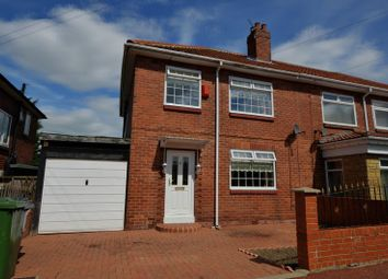 Thumbnail 3 bedroom semi-detached house for sale in Heatherslaw Road, Fenham, Newcastle Upon Tyne