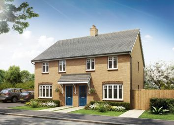 "Thumbnail 3 bed terraced house for sale in ""Maidstone"" at Southern Cross, Wixams, Bedford"