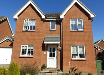 Thumbnail 4 bed detached house to rent in Curie Drive, Gorleston, Great Yarmouth