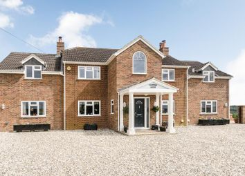 Thumbnail 5 bed detached house for sale in Long Hedge, Lambourn, Hungerford