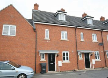 Thumbnail 3 bedroom town house to rent in Mallard Court, Oakham