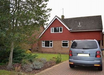 Thumbnail 4 bed detached house for sale in Chartwell Avenue, Boothville, Northampton