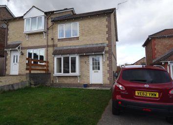 Thumbnail 2 bed semi-detached house to rent in Trem Y Garth, Llanharry, Pontyclun