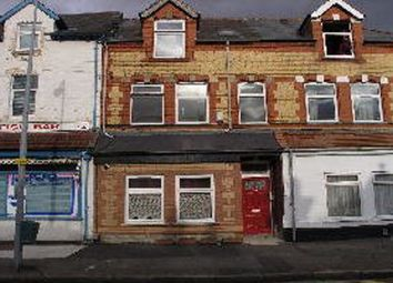 Thumbnail 1 bed flat to rent in Clive Road Gff, Canton, Cardiff.