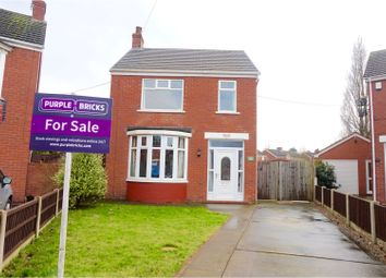 Thumbnail 3 bed detached house for sale in Lydbrook Road, Scunthorpe
