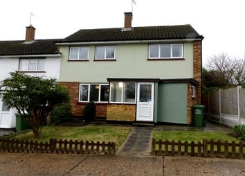 Thumbnail 3 bedroom end terrace house to rent in Well Mead, Billericay