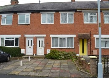 Thumbnail 2 bed terraced house to rent in London Road, Oadby, Leicester