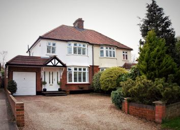 Thumbnail 3 bed semi-detached house for sale in Purfleet Road, Aveley, South Ockendon, Essex