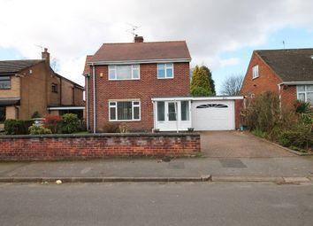 Thumbnail 3 bed detached house for sale in Mavis Avenue, Ravenshead, Nottingham