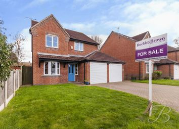 Thumbnail 4 bed detached house for sale in Dukeries Crescent, Edwinstowe, Mansfield
