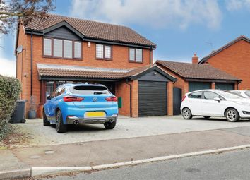 Beezling Close, Eaton Ford, St. Neots PE19. 4 bed detached house for sale