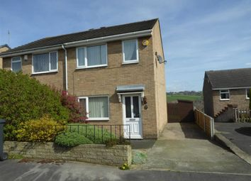 Thumbnail 3 bed semi-detached house for sale in Dacre Close, Liversedge, West Yorkshire