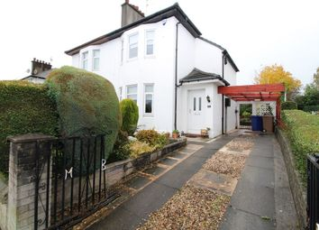 Thumbnail 2 bed semi-detached house for sale in Gallowhill Road, Paisley, Renfrewshire