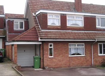 Thumbnail 4 bedroom semi-detached house for sale in Parkview Crescent, Reedswood, Walsall