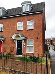 Thumbnail 3 bed town house to rent in Cossington Road, Coventry