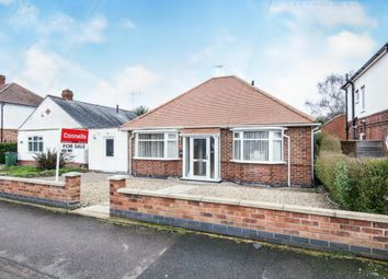 Thumbnail 2 bed detached bungalow for sale in Grange Drive, Glen Parva, Leicester