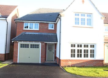Thumbnail 4 bed detached house for sale in Porter Close, Hinckley