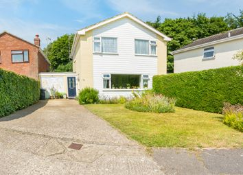 Thumbnail 4 bed detached house for sale in Frithmead Close, Basingstoke