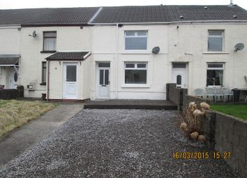 Thumbnail 2 bed terraced house to rent in Picton Street, Nantyffyllon, Maesteg