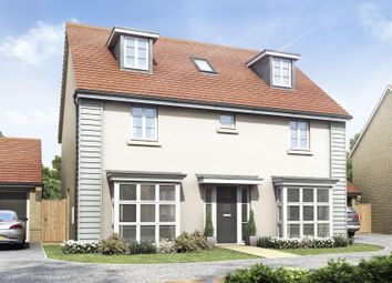 "Thumbnail 5 bedroom detached house for sale in ""Buckingham"" at Bearscroft Lane, London Road, Godmanchester, Huntingdon"