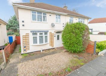 Thumbnail 3 bed semi-detached house for sale in Glenhills Boulevard, Leicester