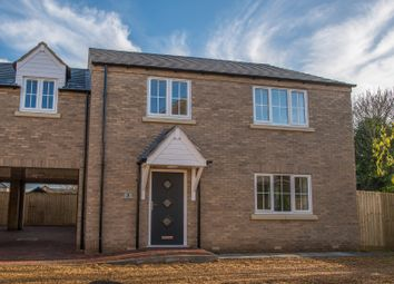 Thumbnail 4 bed link-detached house for sale in Millers Yard, Station Road, March, Cambridgeshire