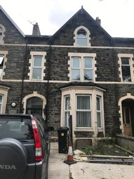 Thumbnail 1 bed flat to rent in Newport Road, Cardiff