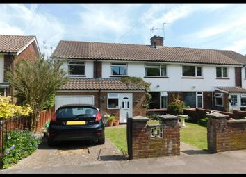 Thumbnail 4 bed semi-detached house for sale in Calmore Cresent, Old Calmore, Totton