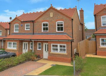 Thumbnail 3 bed semi-detached house for sale in Baulk Close, Harpenden