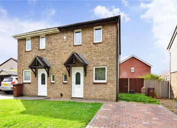 Thumbnail 2 bed semi-detached house for sale in Kingston Crescent, Lords Wood, Chatham, Kent