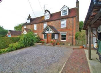 Thumbnail 4 bed semi-detached house for sale in Gun Hill, Heathfield
