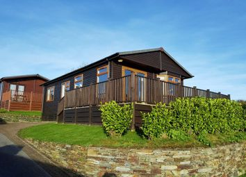 Thumbnail 3 bed property for sale in Bossiney Bay Holiday Park, Tintagel