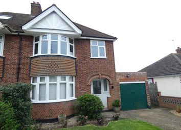 Thumbnail 3 bed semi-detached house to rent in Eaton Road, Kempston, Bedford