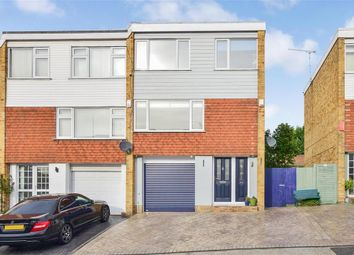 Thumbnail 4 bed town house for sale in Elmfield Close, Gravesend, Kent