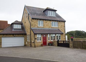 Thumbnail 5 bed detached house for sale in Woodhorn Mews, Ashington