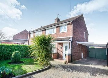 Thumbnail 3 bed semi-detached house for sale in Bent Lane, Staveley, Chesterfield, Derbyshire