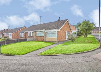 Thumbnail 2 bed bungalow for sale in Hawks Drive, Burton-On-Trent