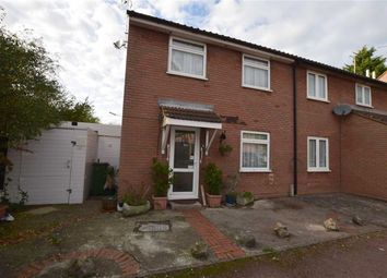 Thumbnail 3 bed end terrace house for sale in Kelvedon Close, Rayleigh, Essex