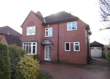 Thumbnail 3 bed detached house for sale in Lancaster Road, Newcastle, Staffordshire
